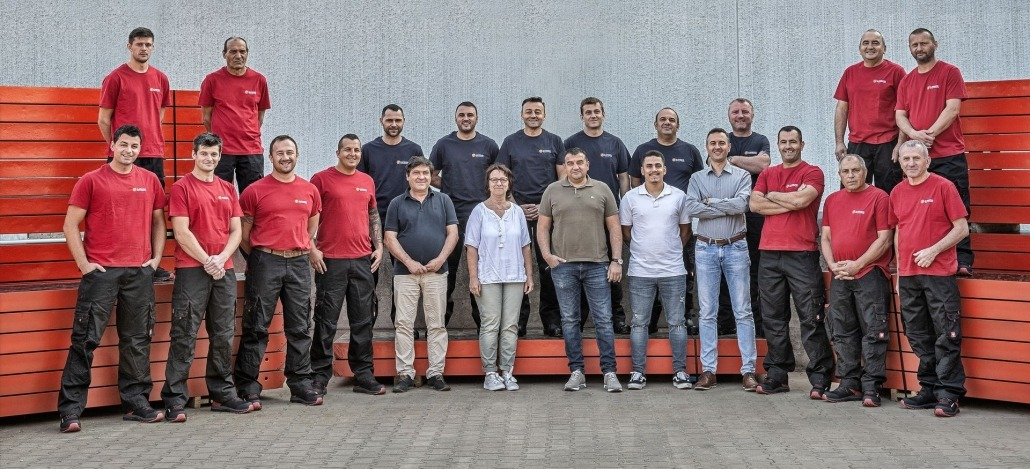 Lukic Schalungstechnik Team
