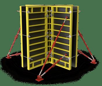 Rahmenschalung, Formwork Corner