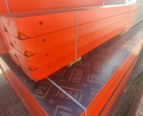 Peri Trio Steel with used plywood
