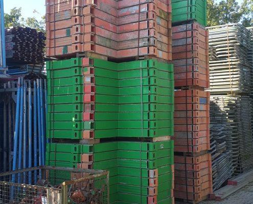 Betonierpodest für Säulenschalungen
